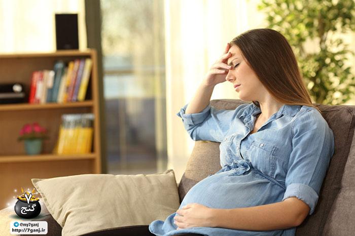 نفخ بارداری