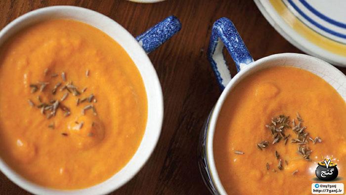 سوپ برای سلامت چشم