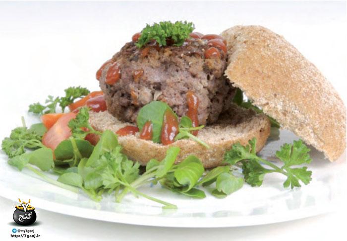 برگر گوشت
