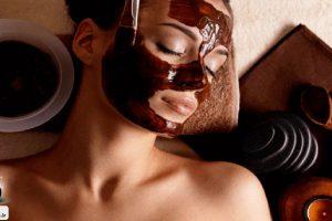 ماسک صورت شکلاتی