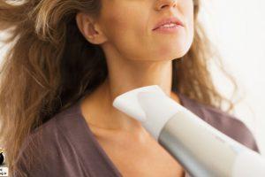خشک کردن مو با سشوار