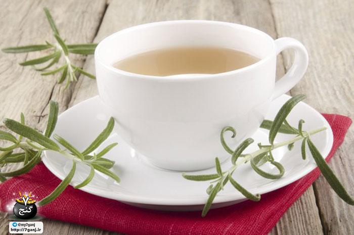 خواص چای رزماری