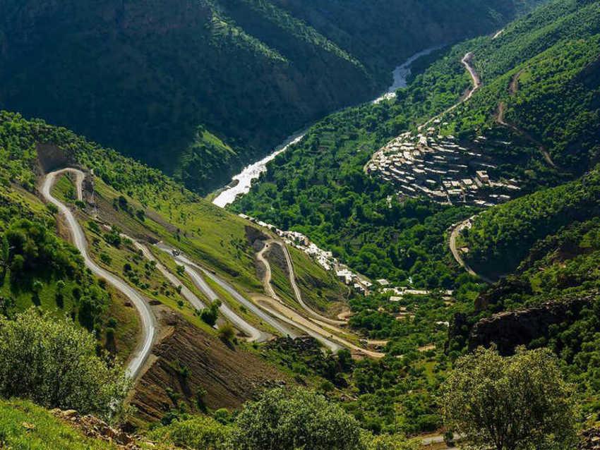 رشته کوه های زاگرس_ اورامان، کردستان ایران