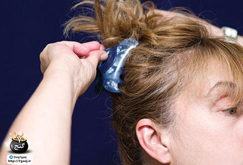 مدل دادن مو