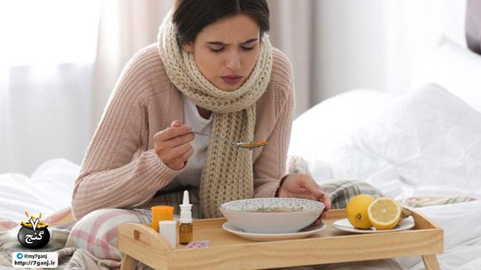 سرماخوردگی یا آنفولانزا