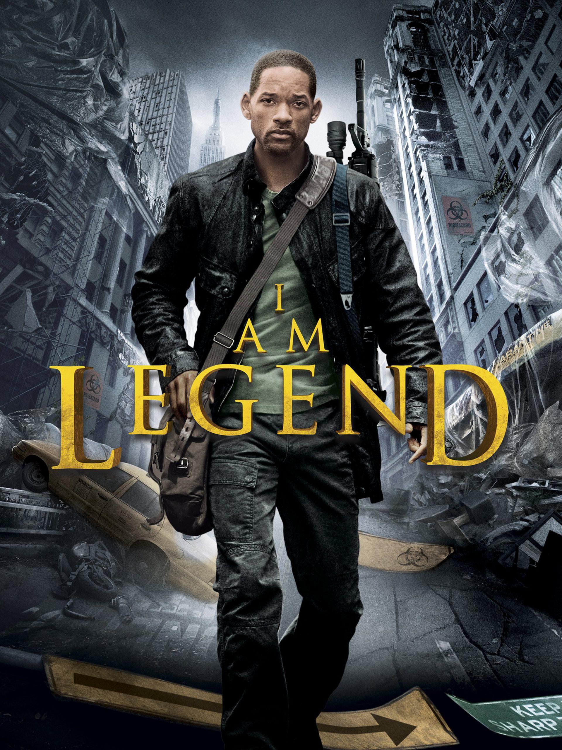 من یک افسانه هستم i am legend