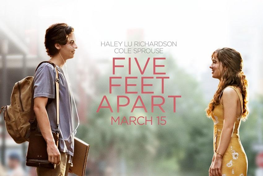 پنج قدم فاصله Five Feet Apart