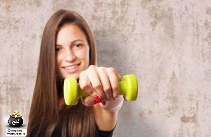 تمرین با دمبل