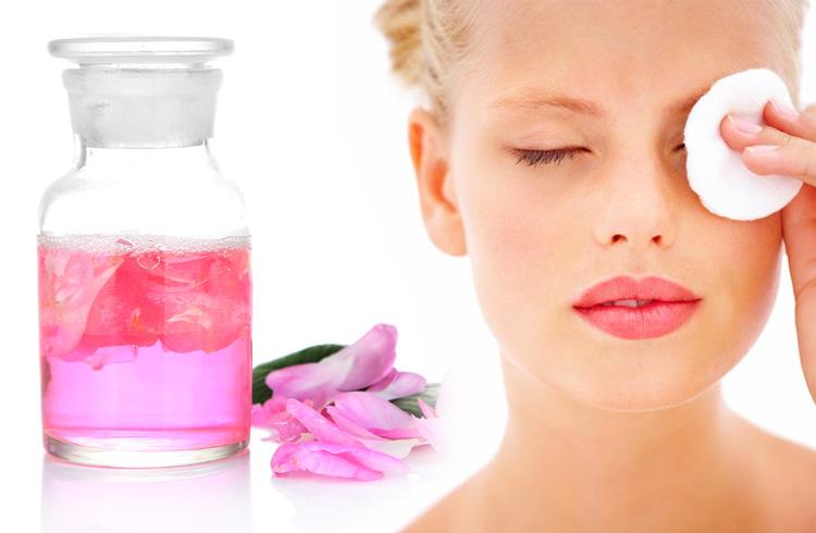 شستن چشم با گلاب