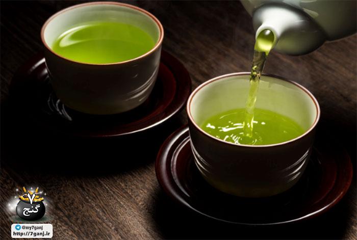 فواید چای سبز برای تنفس