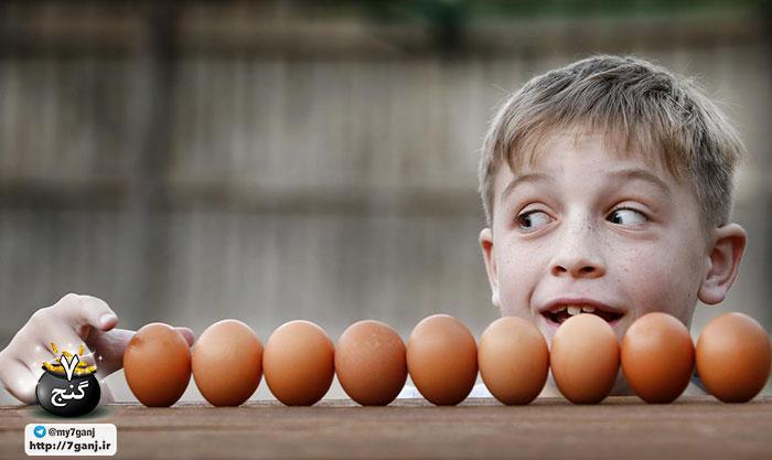 حساسیت به تخم مرغ