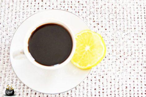 افزودن آب لیمو به قهوه