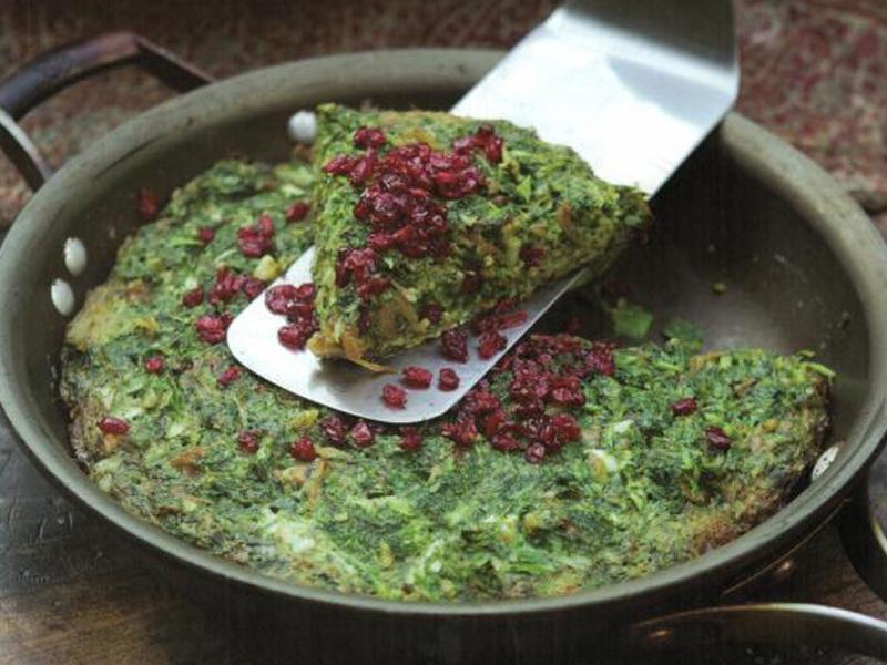طرز تهیه کوکو سبزی تازه و خوشمزه