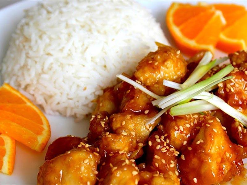 طرز تهیه مرغ با سس پرتقال خوشمزه