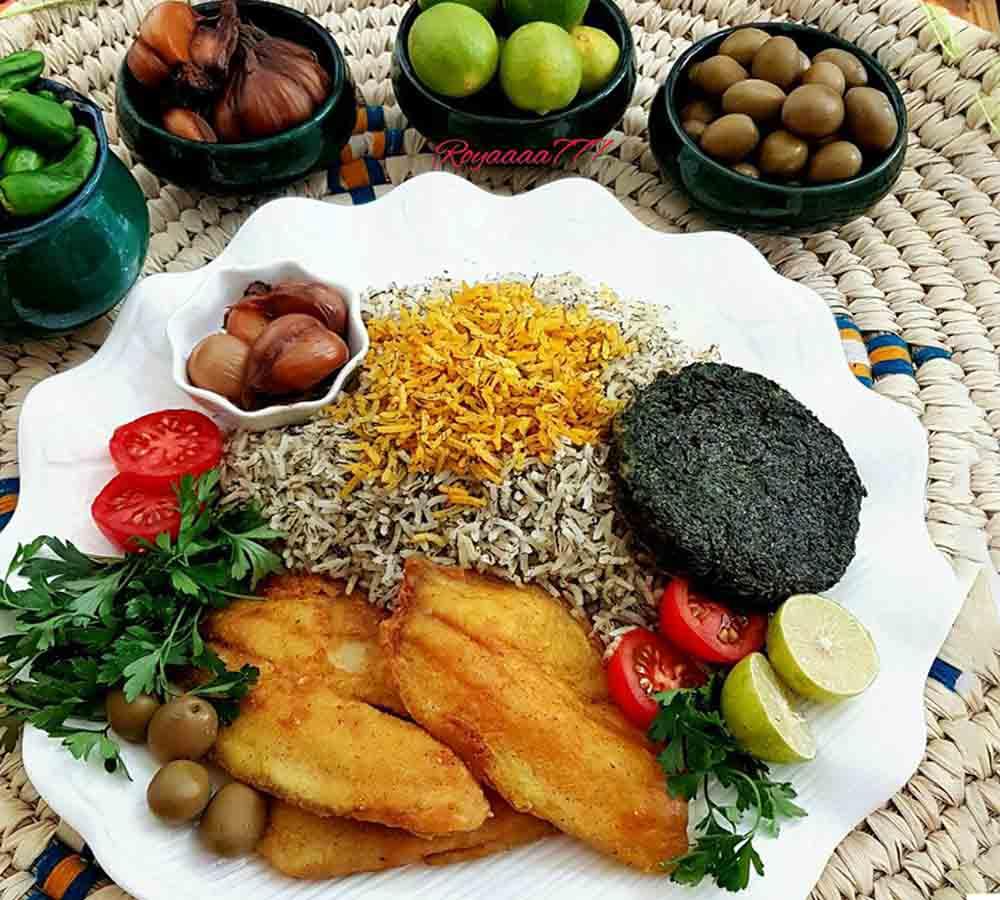 طرز تهیه سبزی پلو ماهی