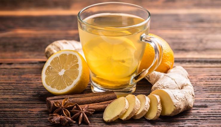 طرز تهیه  چای زنجبیل با ۶ روش سریع و آسان