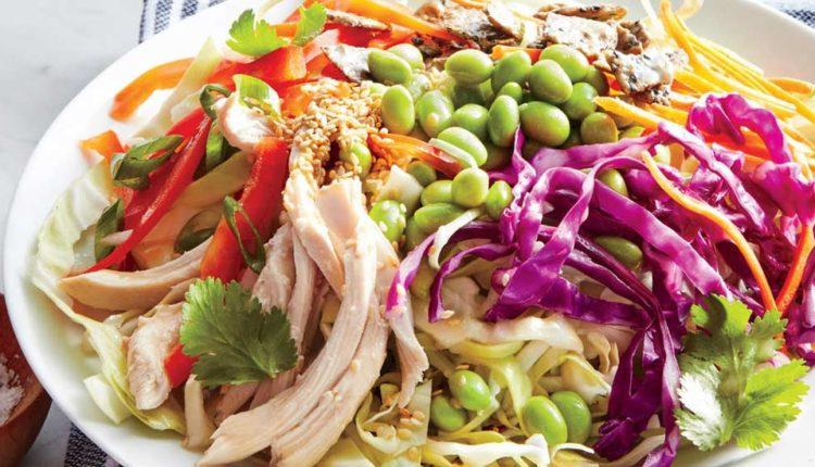 طرز تهیه سالاد مرغ و سبزیجات؛ سالادی کمکربوهیدرات و رژیمی
