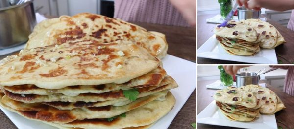 طرز تهیه نان سیر هندی بدون فر