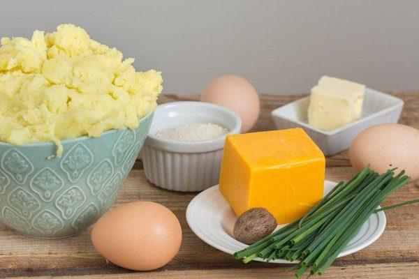 طرز تهیه کاپ سیب زمینی پنیری