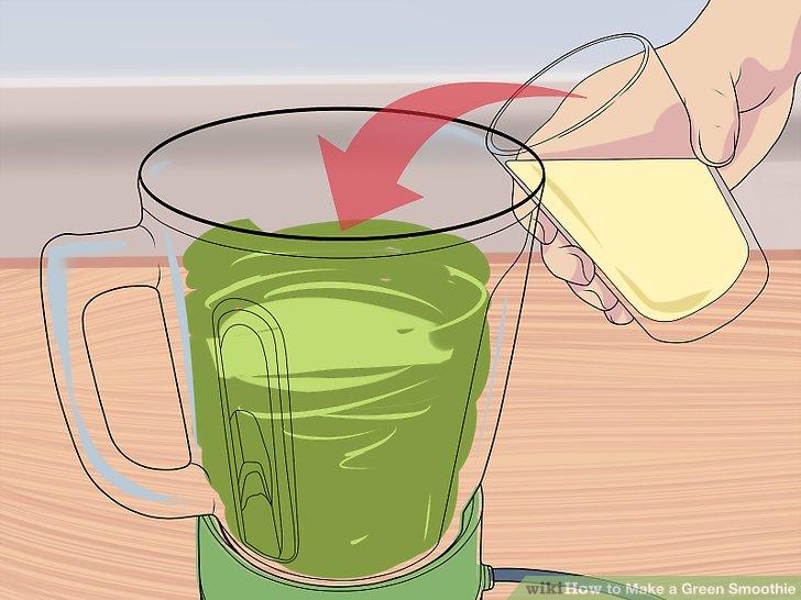 طرز تهیه روش  گرین اسموتی نوشیدنی سالم و مقوی