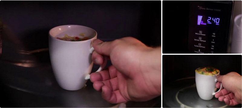 طرز تهیه پخت املت فنجانی