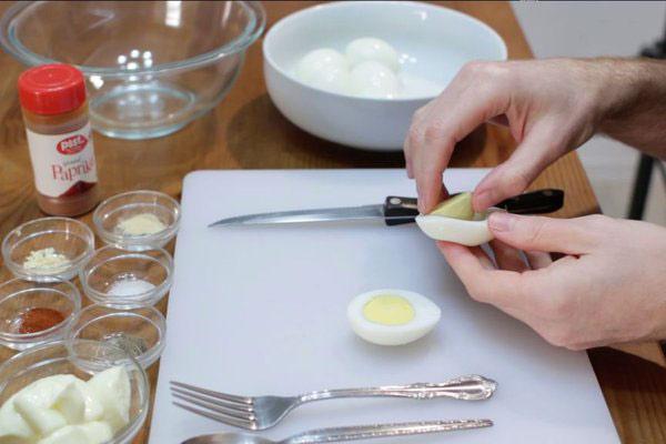 طرز تهیه تخم مرغ شیطانی