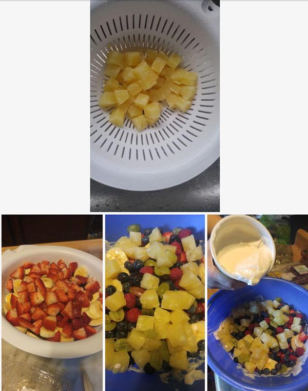 طرز تهیه پای میوه