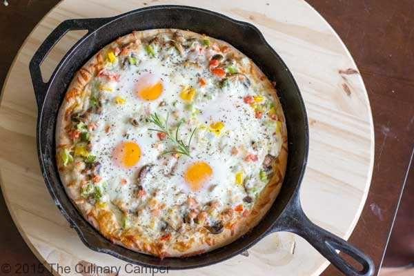 طرز تهیه روش  پیتزای صبحانه