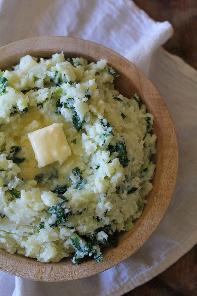 طرز تهیه پوره سیب زمینی به سبک ایرلندی