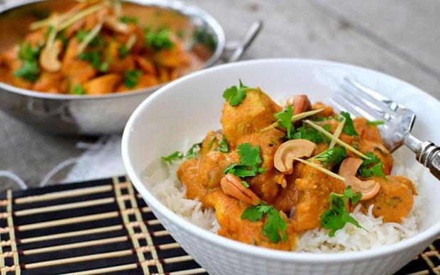 طرز تهیه پخت کرما چیکن غذای هندی