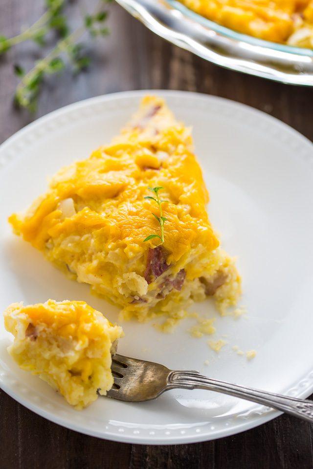 طرز تهیه پای سیب زمینی پنیری