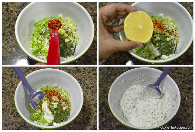 طرز تهیه ماهی با روکش خامه و شوید
