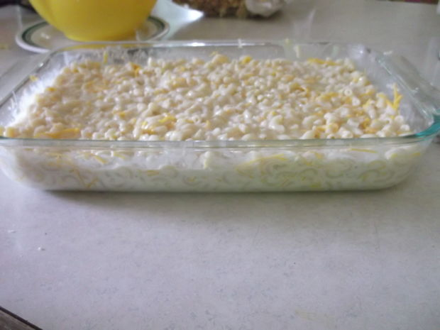 طرز تهیه ماکارونی با پنیر