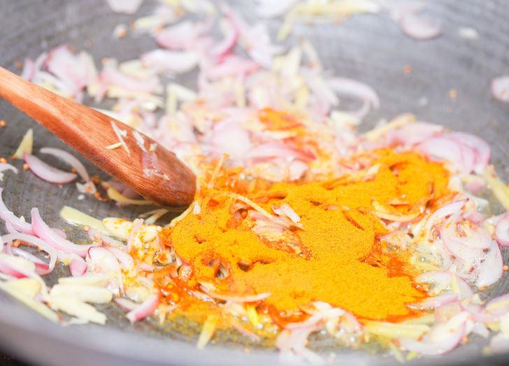 طرز تهیه خورش کاری هندی