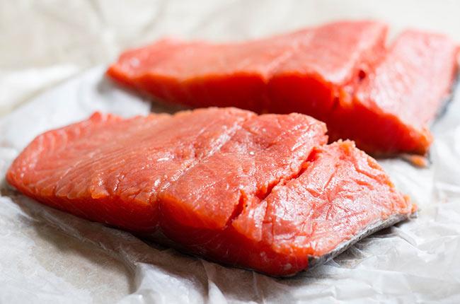 طرز تهیه سالمون تند و شیرین