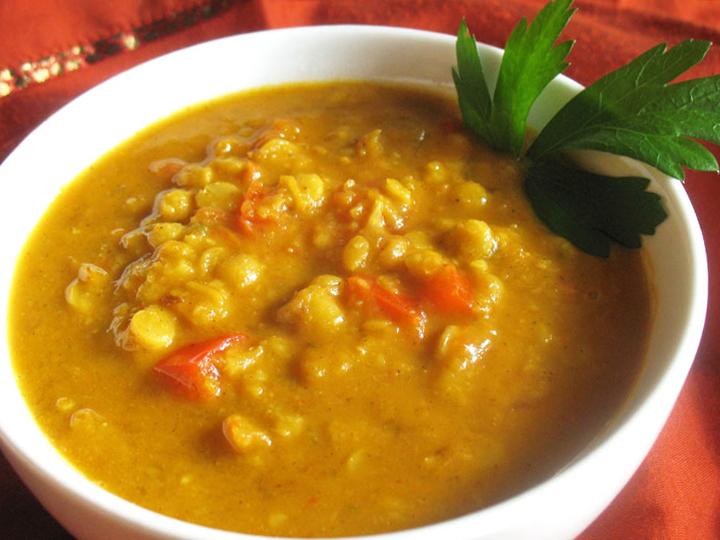 طرز تهیه سوپ توردال هندی