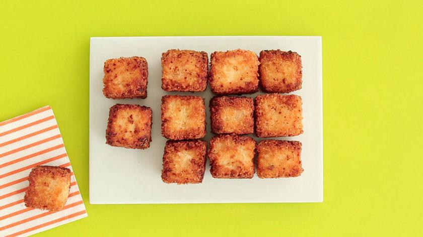 طرز تهیه پنیر کبابی سوخاری
