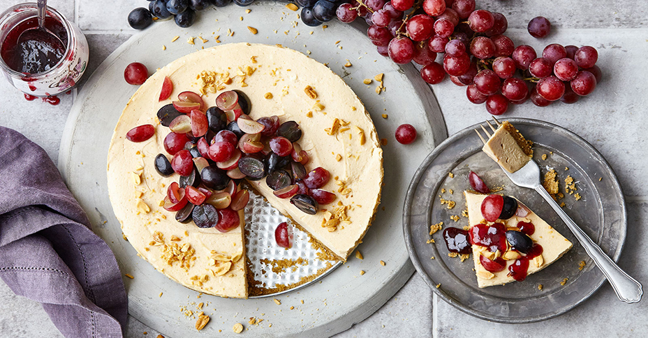 طرز تهیه کیک انگور