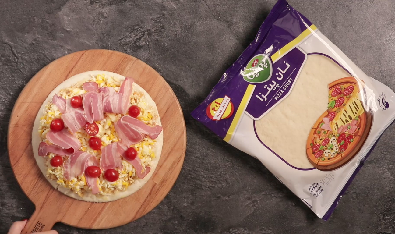 طرز تهیه پیتزا اسکرمبلد برای صبحانه