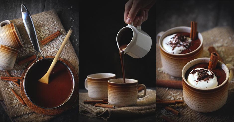 طرز تهیه هات چاکلت خوشمزه خانگی