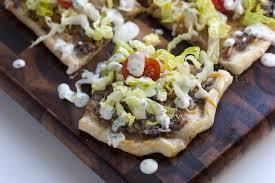 طرز تهیه › پیتزای لوبیا سیاه