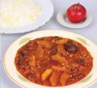 طرز تهیه خورش سیب درختی