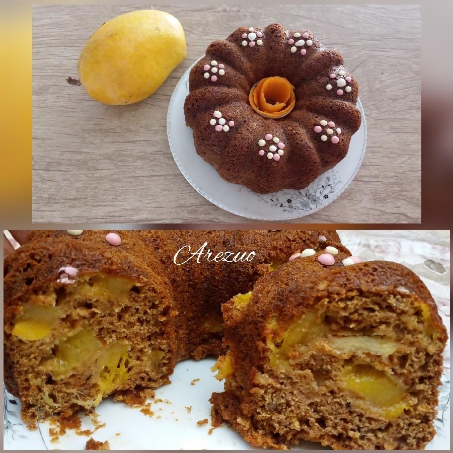 طرز تهیه کیک هویج و انبه