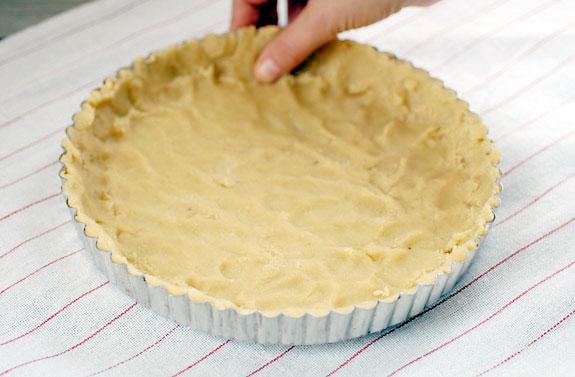 طرز تهیه خمیر تارت شیرین