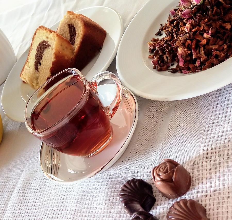 طرز تهیه چای بهشت(دمنوش میوه ای)