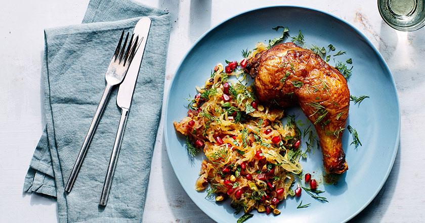طرز تهیه مرغ زنجبیلی