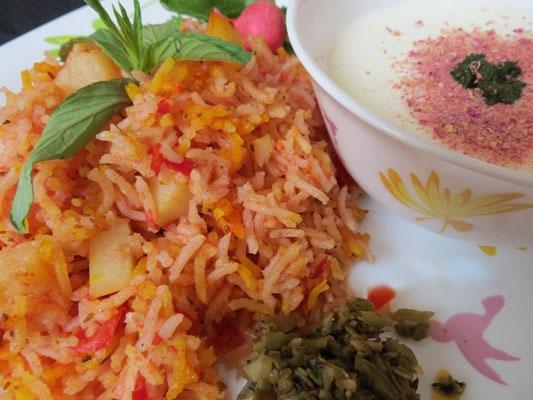 طرز تهیه دمی گوجه فرنگی