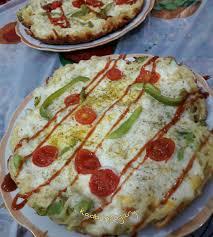 طرز تهیه پیتزای نودل