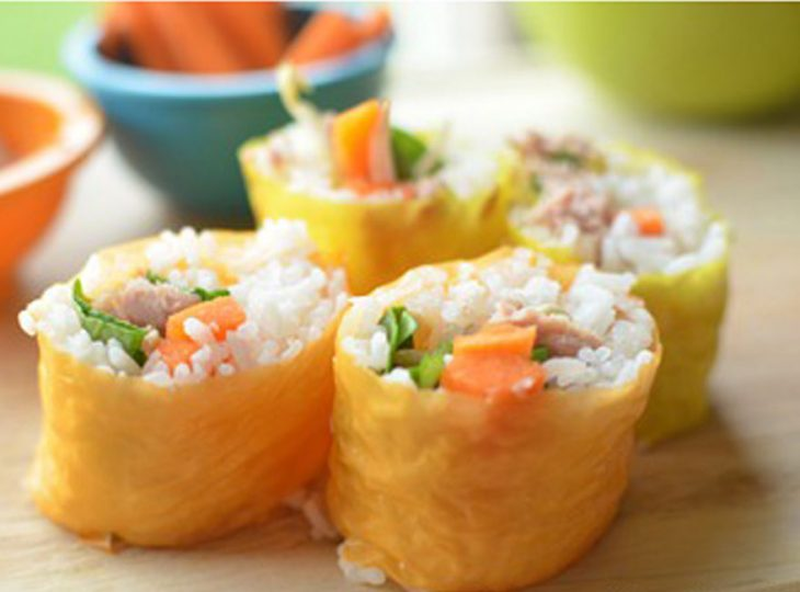 طرز تهیه لقمه های برنج و تن ماهی