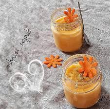 طرز تهیه فرنی هویج